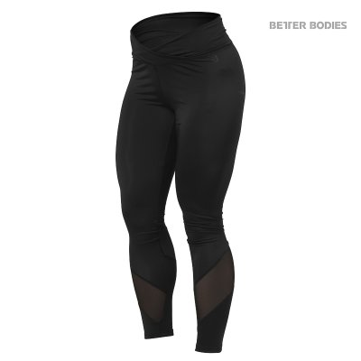 BB Wrap tights - Black, (Vain M- ja L-koko)