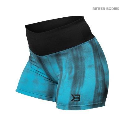 BB Grunge Shorts - Aqua Blue