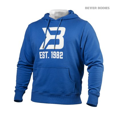 BB Gym hoodie - Bright Blue, (Vain S-, M- ja L-koko)