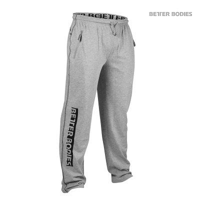 BB Gym Sweatpant - Grey Melange, (Vain XL-koko)