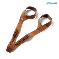 BB 1,5 inch leather strap - Brown Leather