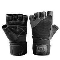 BB Pro wristwrap gloves - Black