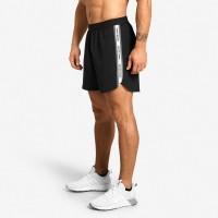 BB Essex Stripe Shorts - Black