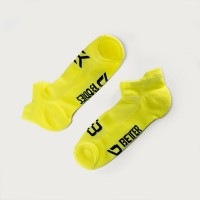 BB Short Socks 2-p - Neon Yellow