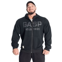 GASP Layered Hood - Washed Black