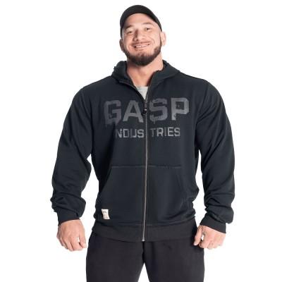 GASP Layered Hood - Washed Black