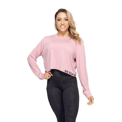 BB Rockaway Seamless LS - Heather Pink