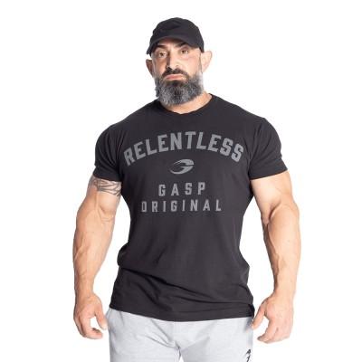 GASP Relentless Skull Tee - Washed Black