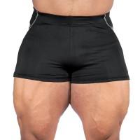 GASP Logo Hot Pant V2 - Black