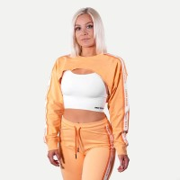 BB Chrystie Cropped LS - Light Orange