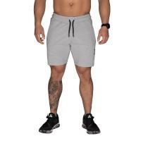 BB Tapered Sweat Shorts - Light Grey Melange