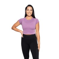 BB Astoria Seamless Tee - Strong Purple