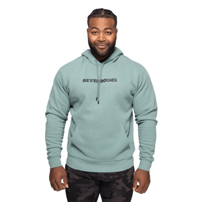 BB Logo Hoodie - Teal Green
