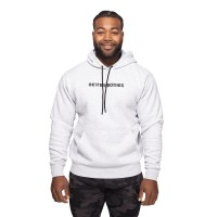 BB Logo Hoodie - Light Grey Melange