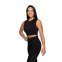 BB Roxy Seamless Top - Black/Dark Navy