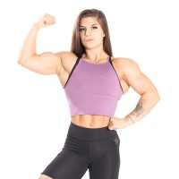 BB Performance Crop Halter - Strong Purple