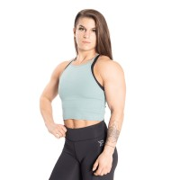 BB Performance Crop Halter - Teal Green