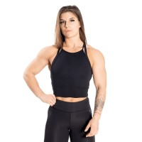 BB Performance Crop Halter - Black