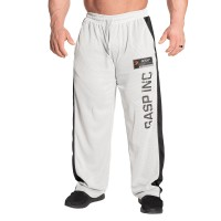 GASP No1 Mesh Pant - White/Grey