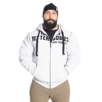 BB Graphic Hoodie - Light Grey Melange