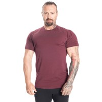 BB Gym Tapered Tee - Maroon