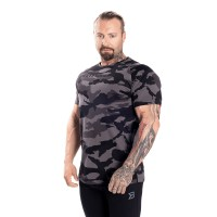 BB Gym Tapered Tee - Dark Camo