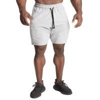 GASP Tapered Sweat Shorts - Light Grey Melange