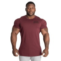 GASP 89 Classic Tapered Tee - Maroon