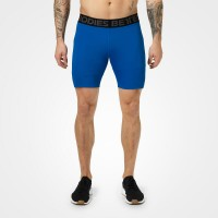 BB Compression Shorts - Strong Blue