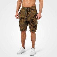 BB Bronx Cargo Shorts - Military Camo