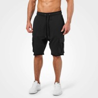 BB Bronx Cargo Shorts - Wash Black