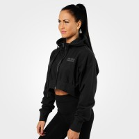 BB Astoria Cropped Hood - Black