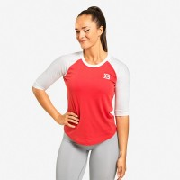BB Womens Baseball Tee - Raspberry