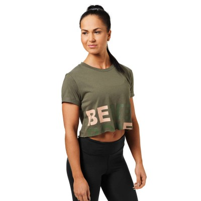 BB Astoria Cropped Tee - Wash Green