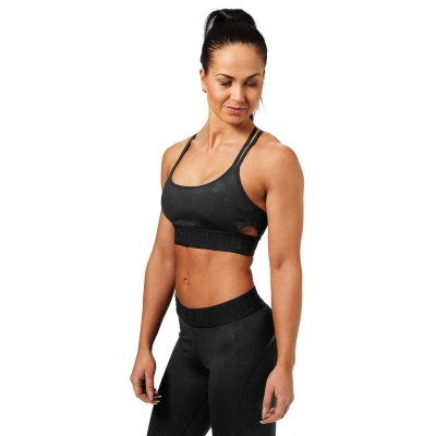 BB Astoria Sports Bra - Black Camo