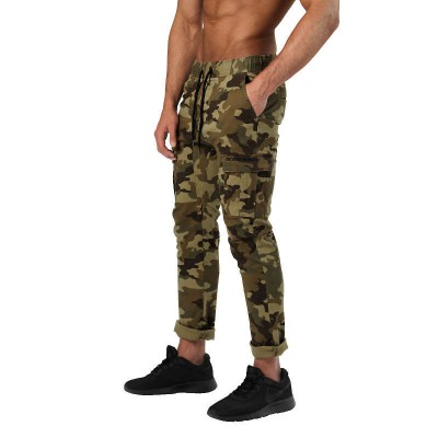 BB Harlem Cargo Pants - Military Camo