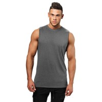 BB Bronx Tank - Dark Grey Melange