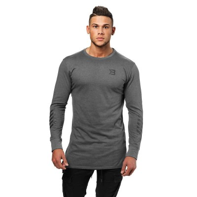 BB Bronx Long Sleeve - Dark Grey Melange, (Vain L-, XL- ja XXL-koko)