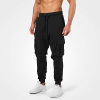 BB Bronx Cargosweatpant - Wash Black