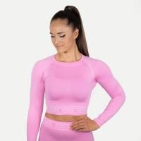BB Rib Seamless LS - Bubblegum Pink