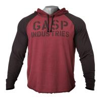 GASP L/S Thermal Hoodie - Maroon