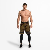 BB Fulton Shorts - Military Camo