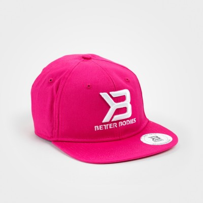 BB Womens Flat Bill Cap - Hot Pink