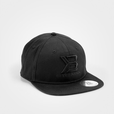 BB Womens Flat Bill Cap - Black
