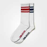 BB Brooklyn Socks 2-p - Dark Navy/Red