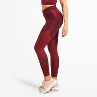 BB Chrystie Shiny Tight - Deep Maroon