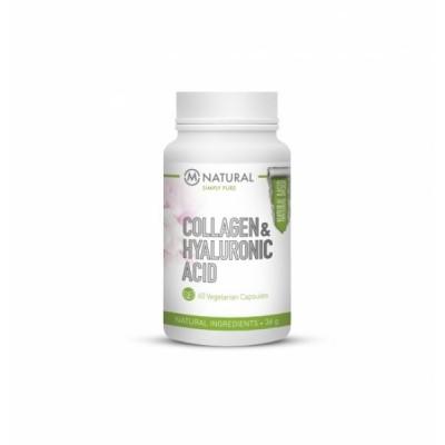 M-Natural Vitamin Collagen & Hyalyronic Acid, 60 kaps.