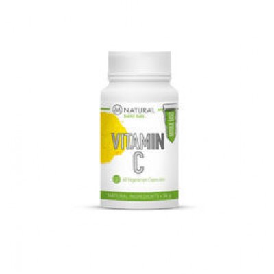 M-Natural Vitamin C Palmiate, 500mg, 60 kaps.