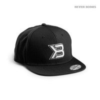 BB Flat bill Cap - Black