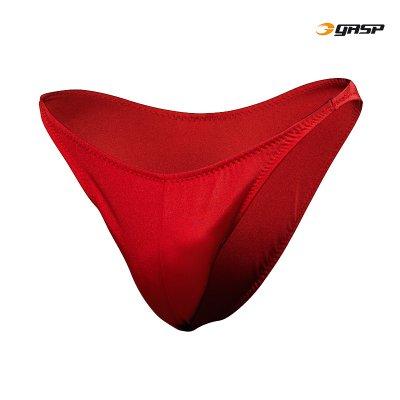GASP Posing Trunks - Ruby Red, (XL-koko loppu)